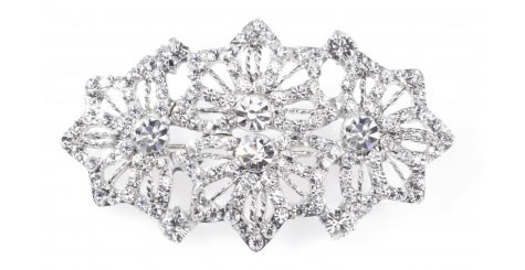 Astor Brooch - Bridal / Evening Wear - Couture Jewellery Collection from the Wedding Accessory Boutique