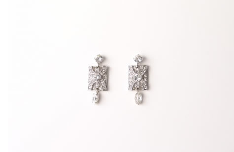 Audrey Earrings - Bridal / Evening Wear - Couture Jewellery Collection from the Wedding Accessory Boutique