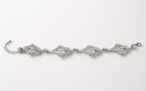 Hayworth Bracelet - Bridal / Evening Wear - Couture Jewellery Collection from the Wedding Accessory Boutique