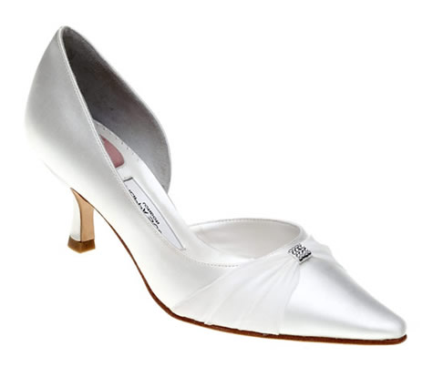 Wedding Shoes Heel on Bridal Shoes   Evening Shoes From Wedding Accessory Boutique