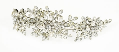 Jasmine Pearl Band - Bridal / Evening Wear - Couture Jewellery Collection from the Wedding Accessory Boutique