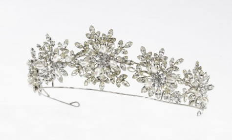 Pearl Tiara - Bridal / Evening Wear - Couture Jewellery Collection from the Wedding Accessory Boutique