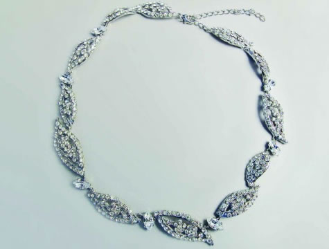 Madison Necklace - Bridal / Evening Wear - Couture Jewellery Collection from the Wedding Accessory Boutique