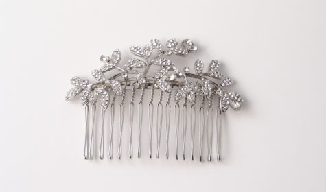 Chantilly Comb - Bridal / Evening Wear - Couture Jewellery Collection from the Wedding Accessory Boutique
