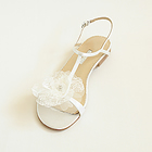 Mauritius - Flat Heeled Wedding Shoes & Evening Shoes by Augusta Jones Wedding Accessories