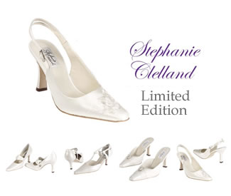 Bridal & Evening Shoes - Stephanie Clelland - Beautiful Shoes for Brides on their Wedding Day - Shop online for quality accessories